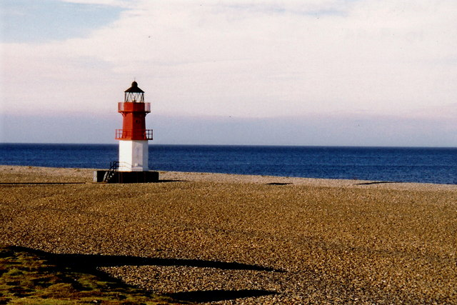 Point of Ayre - Beacon at north end of Isle of Man