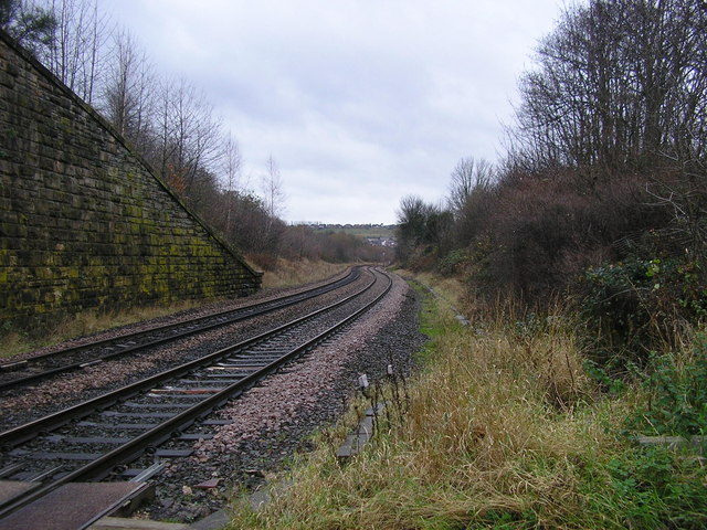 The View South from Lady Ann Crossing, Batley
