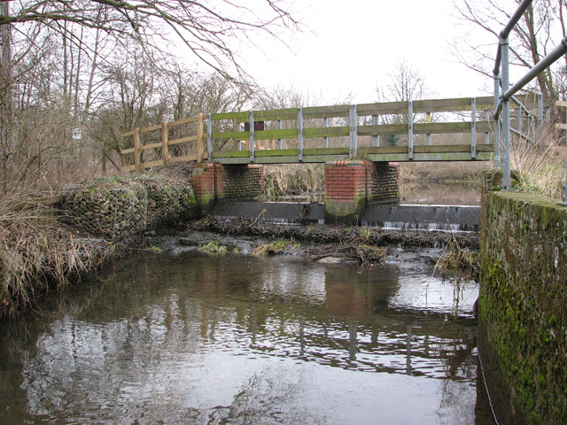 Footbridge by the River Yare