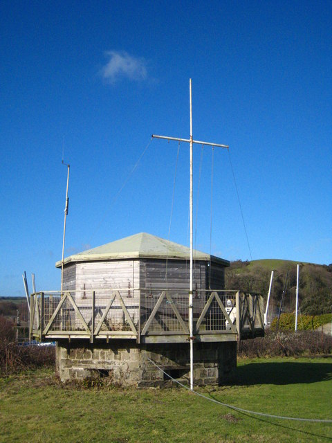 Pentewan Sands Sailing Club race office
