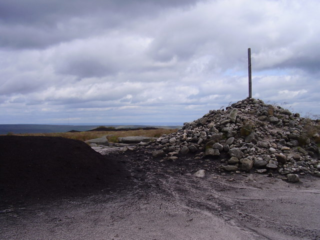 Large cairn on Bleaklow.