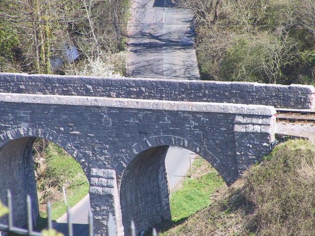 Railway bridge, Corfe Castle