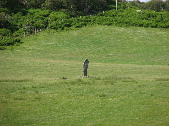 Standing stone at Pottie