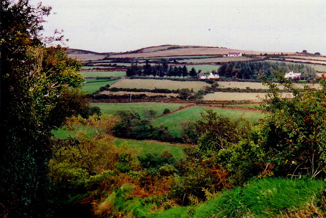 Ballaragh Road - Hillside near north end
