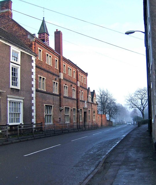 Long Street and the Queen Elizabeth School & Sports College