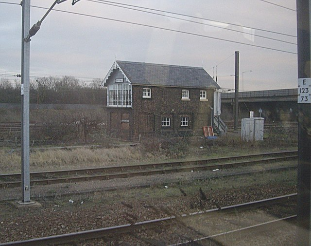 Eastfield signal box, Peterborough