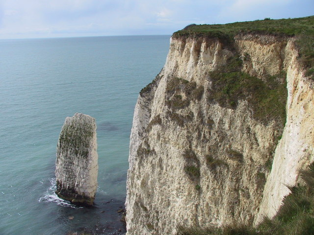 The cliffs of The Foreland