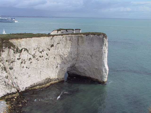 A Natural Arch, The Foreland