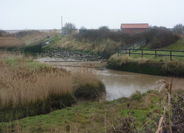 Creek and pumping station