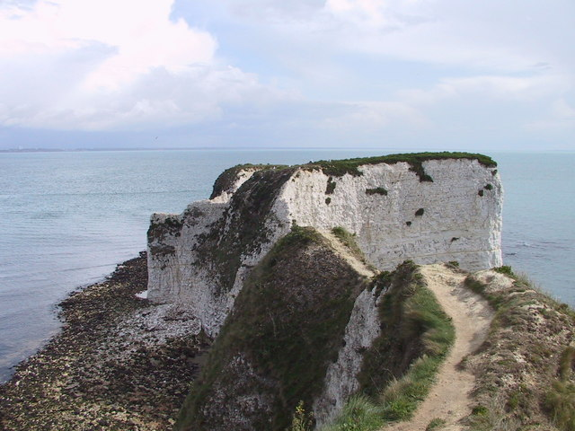 The end of The Foreland & Old Harry