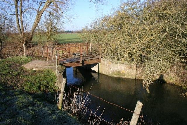 Bridge over the brook