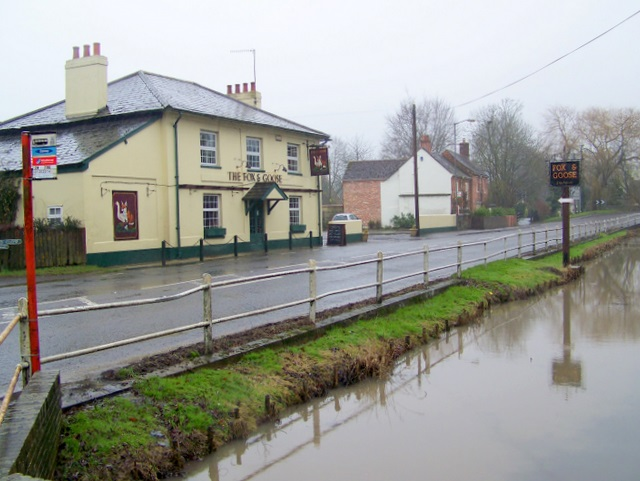 The Fox and Goose, Coombe Bissett