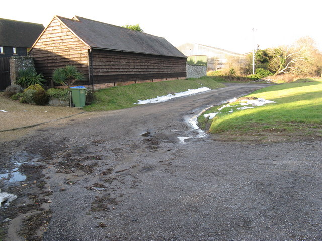 Outbuildings at Lickfold Farm