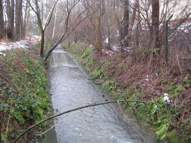 Crawter's Brook in Crawley