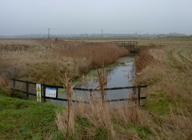 Drainage channel at Black Sluice