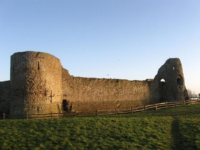Inner Keep, Pevensey Castle