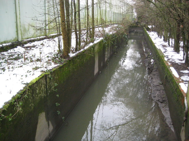 Crawter's Brook in Lowfield Heath