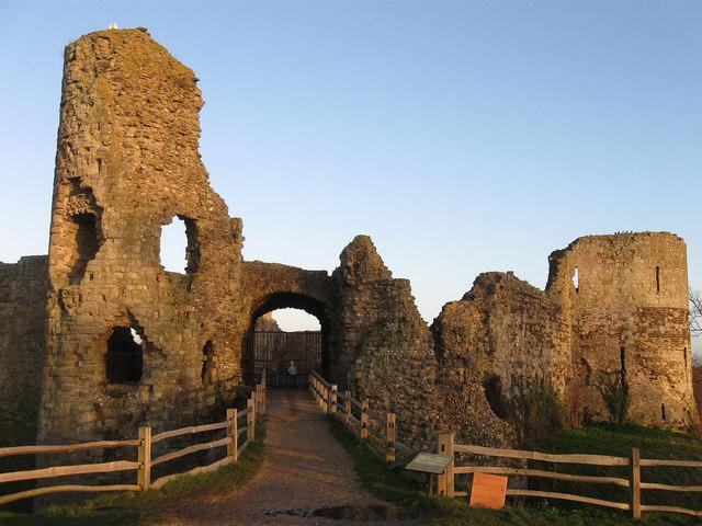Gatehouse, Inner Keep, Pevensey Castle