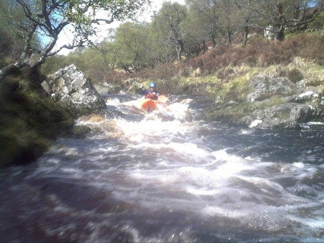 Kayaking Craggie Burn