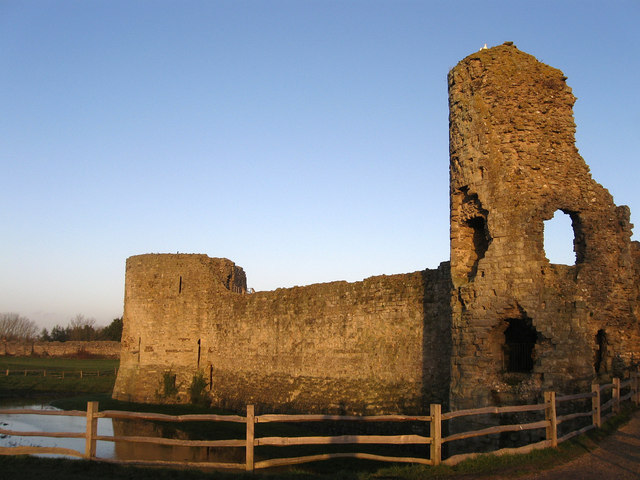 Inner Keep, Pevensey Castle