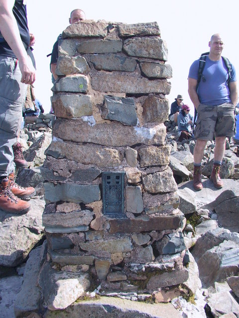 Scafell Pike Trig point