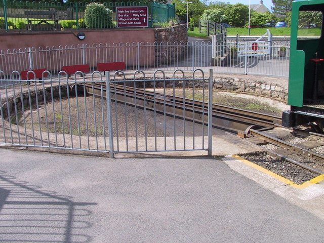 Turntable, Ravenglass Station
