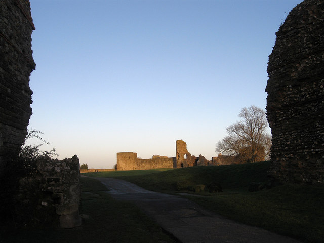 West Gate, Pevensey Castle