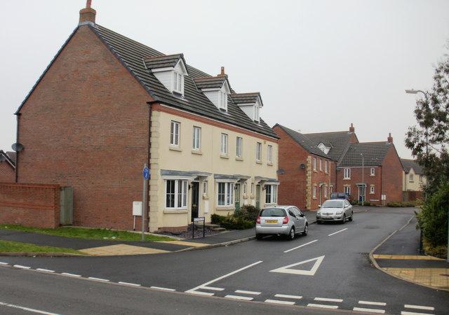 Buccaneer Way houses, Duffryn, Newport