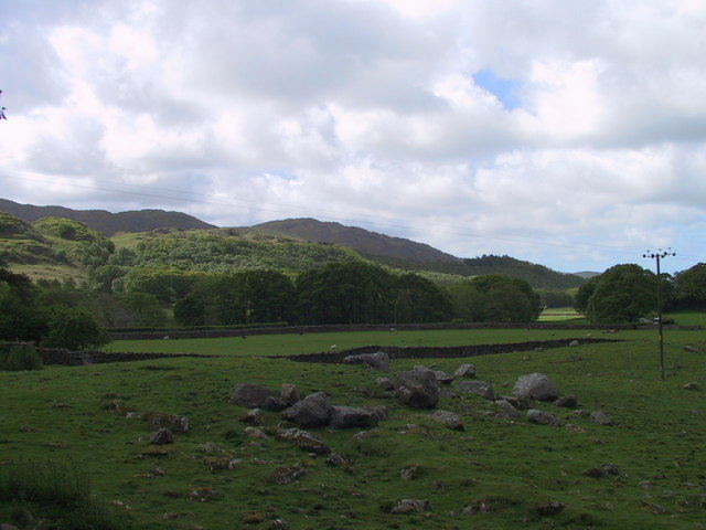 View south to Dalegarth