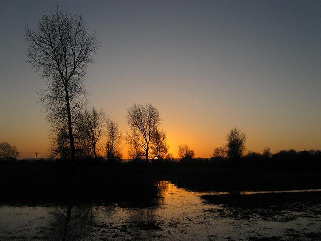 Sunset, Anderita Park