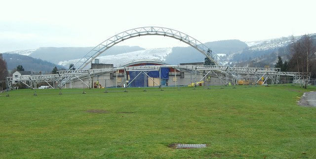 The Llangollen Pavilion is about to get a refurbished shell