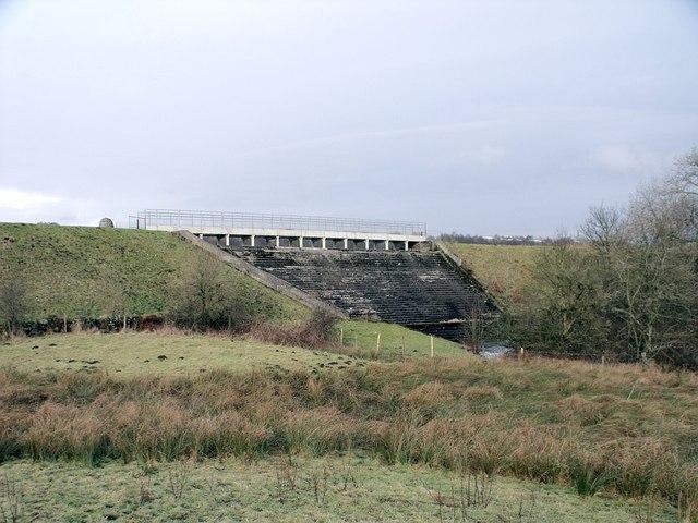 Townhead Reservoir weir