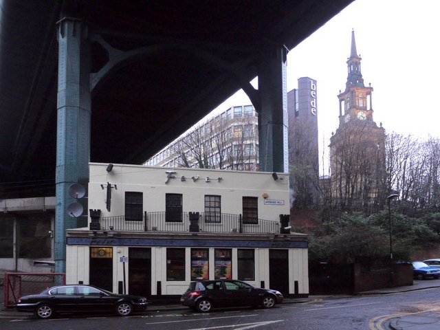 'Fever', the pub under the Tyne Bridge