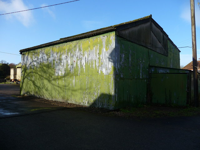 Hurstbourne Tarrant - Corrugated Iron Building