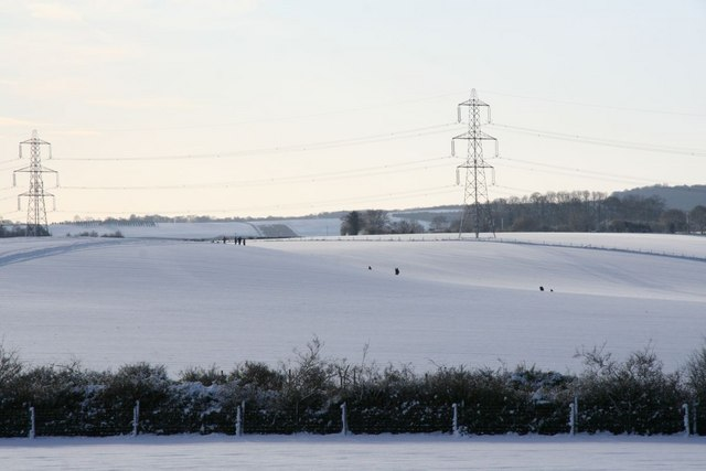 Sledging down the hill