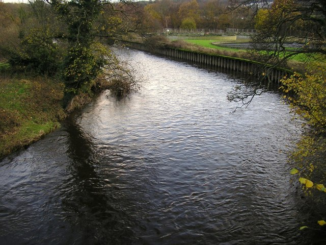 River Aire at Dowley Gap
