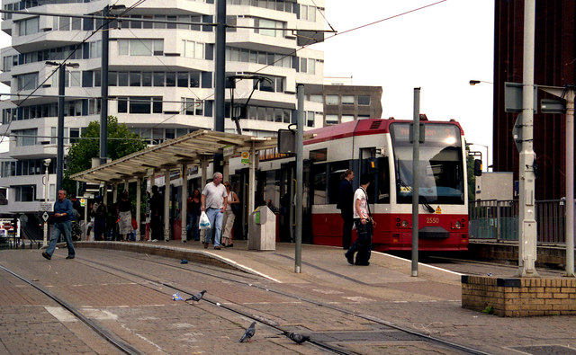 East Croydon tram stop