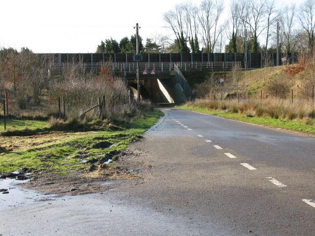 Channel Tunnel rail link bridge over Blind Lane