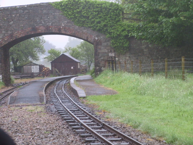 Bridge over the railway, Irton Road Station