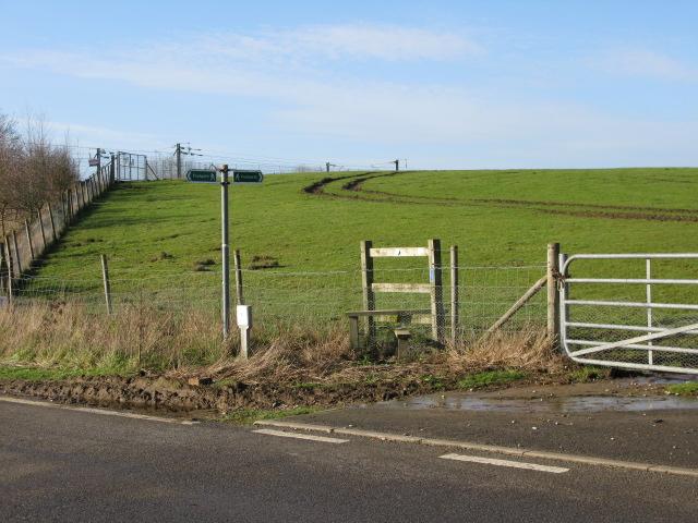 Footpaths off Blind Lane