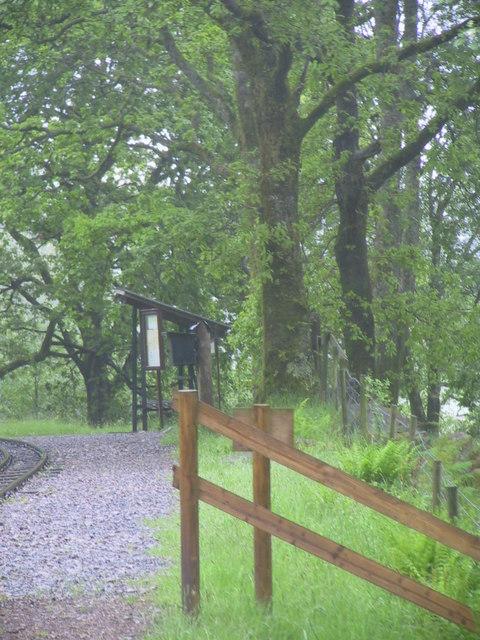 Approaching Fisherground Station