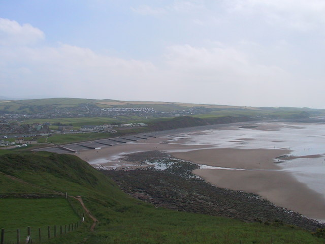 View South to St Bees