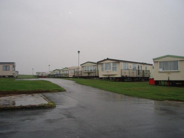 Caravans at Stoupe Cross Farm