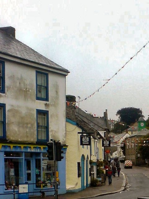 Market Place, Camelford