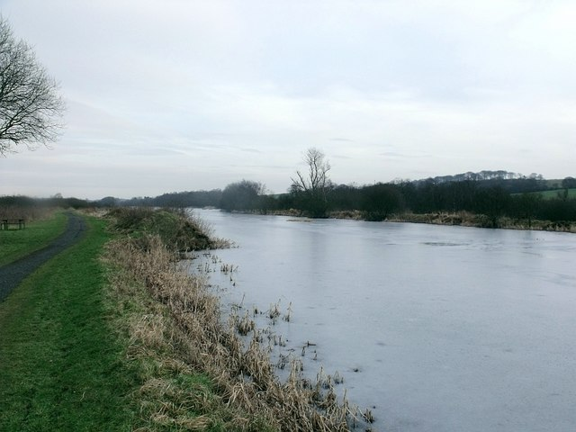 Forth & Clyde Canal in winter