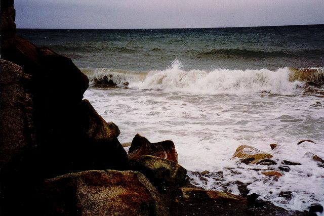 Glen Mooar - Coastal view to north