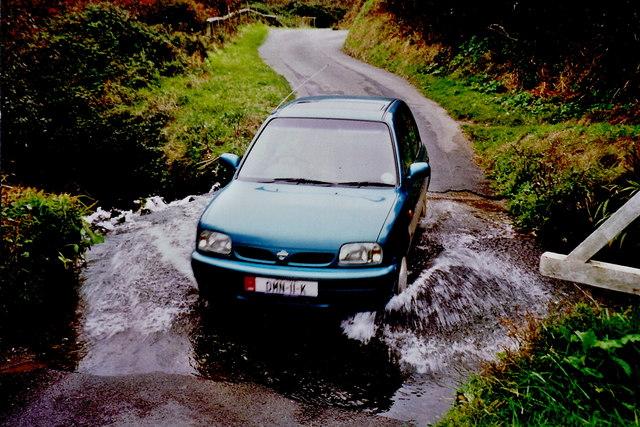 Glen Mooar - Ford through stream