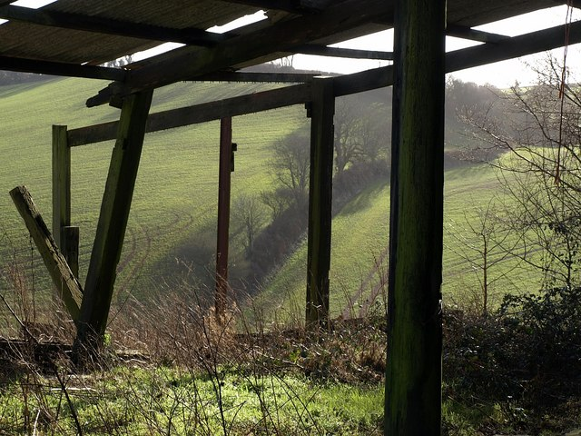 Barn on Brownscombe Hill