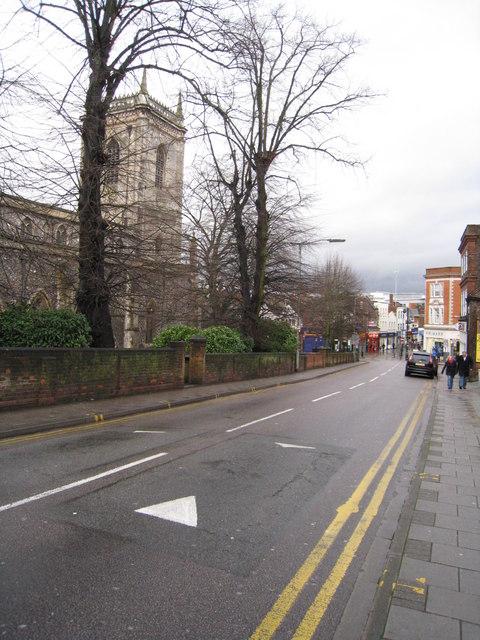 Castle Street & All Saints Parish Church