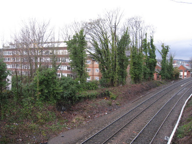 Railway passing through High Wycombe